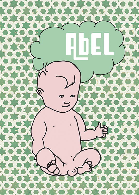 Abel kaartje front