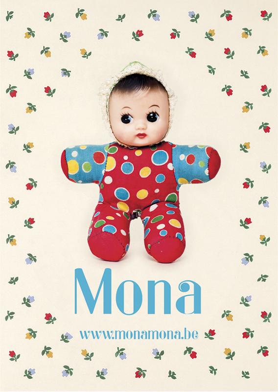 Mona kaartje front